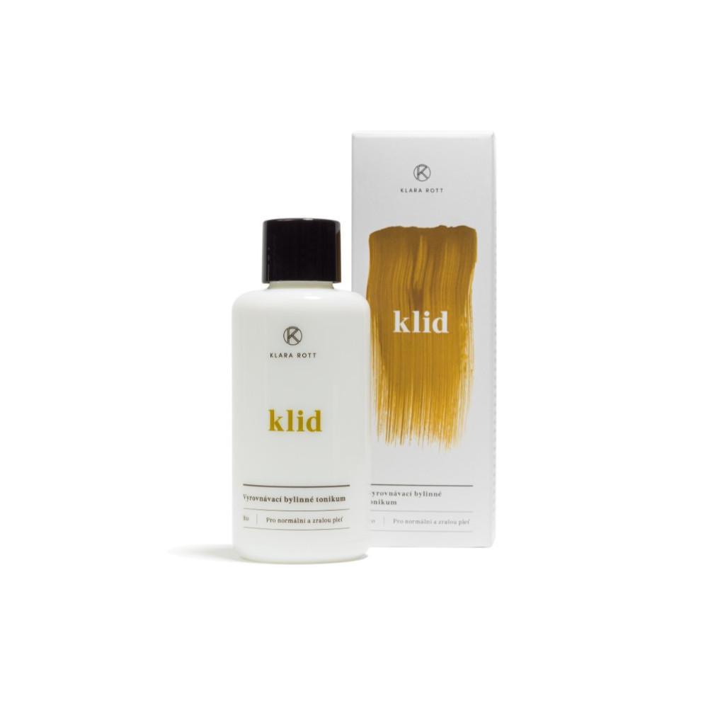 Klara Rott Klid Vyrovnávací bylinné tonikum BIO / pro normální a zralou pleť 100 ml