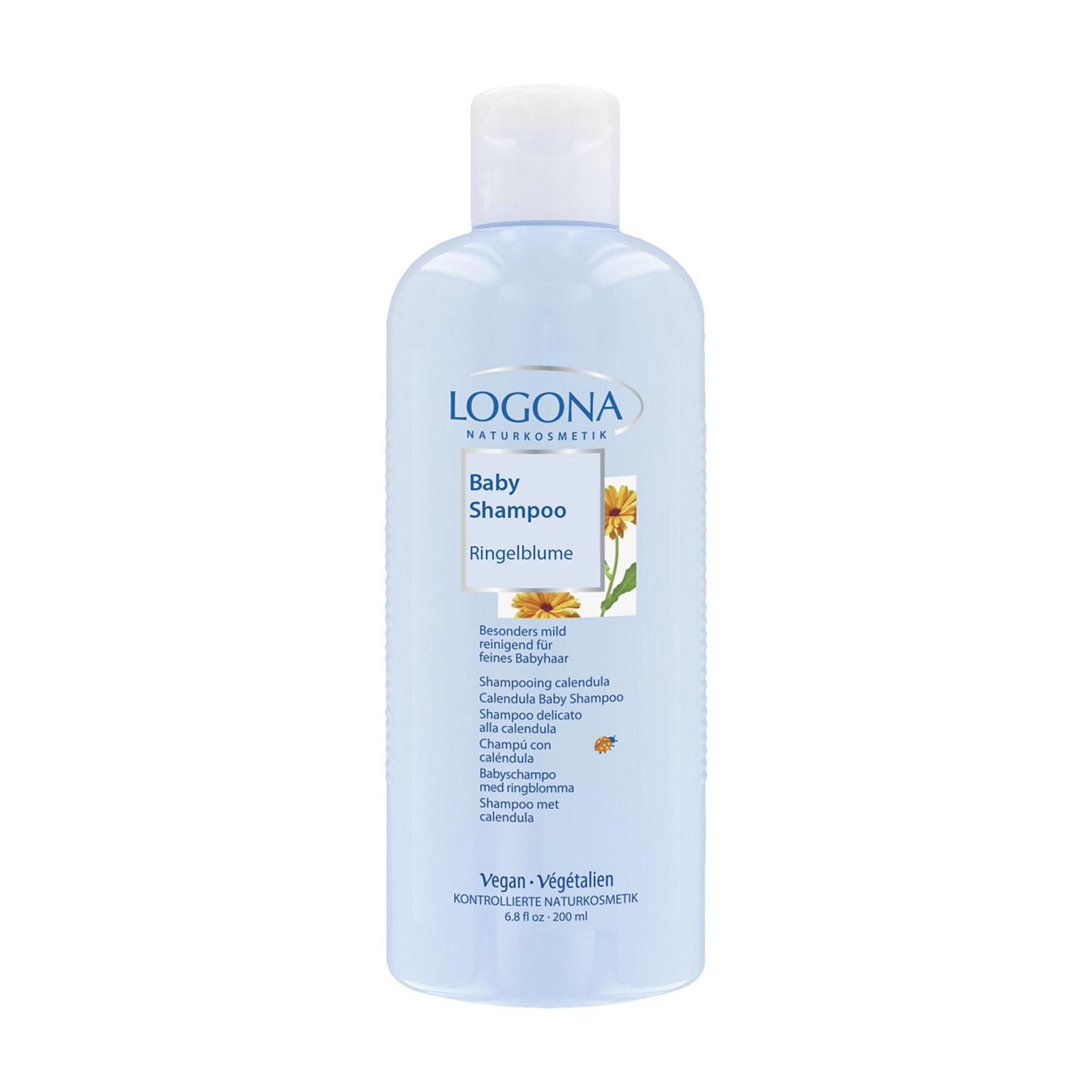 Logona Šampon jemný měsíček, Log Baby 200 ml