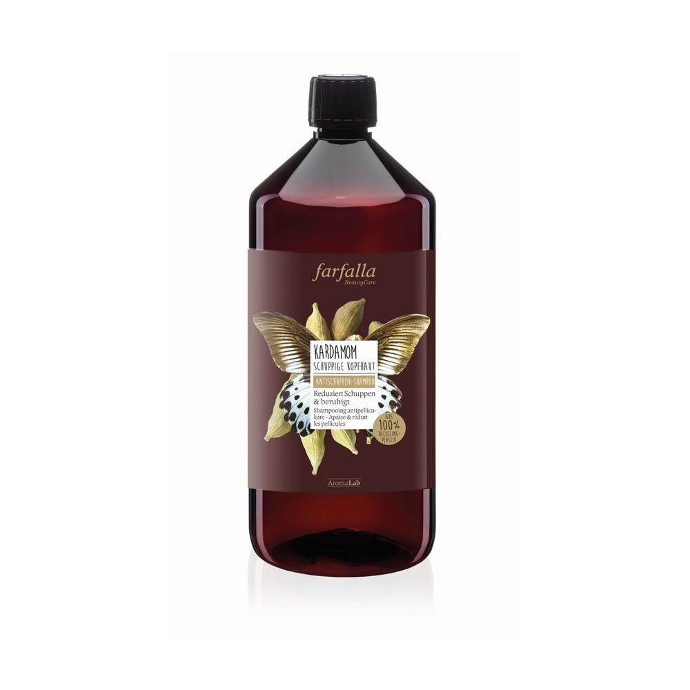 Farfalla Kardamom, Antischuppen-Shampoo, šampon proti lupům s vůní kardamomu 1000 ml
