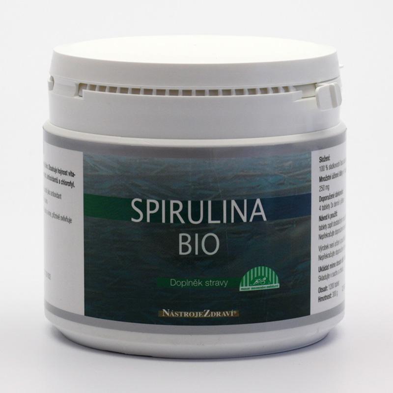 Nástroje Zdraví Spirulina extra bio, tablety 300 g, 1200 ks