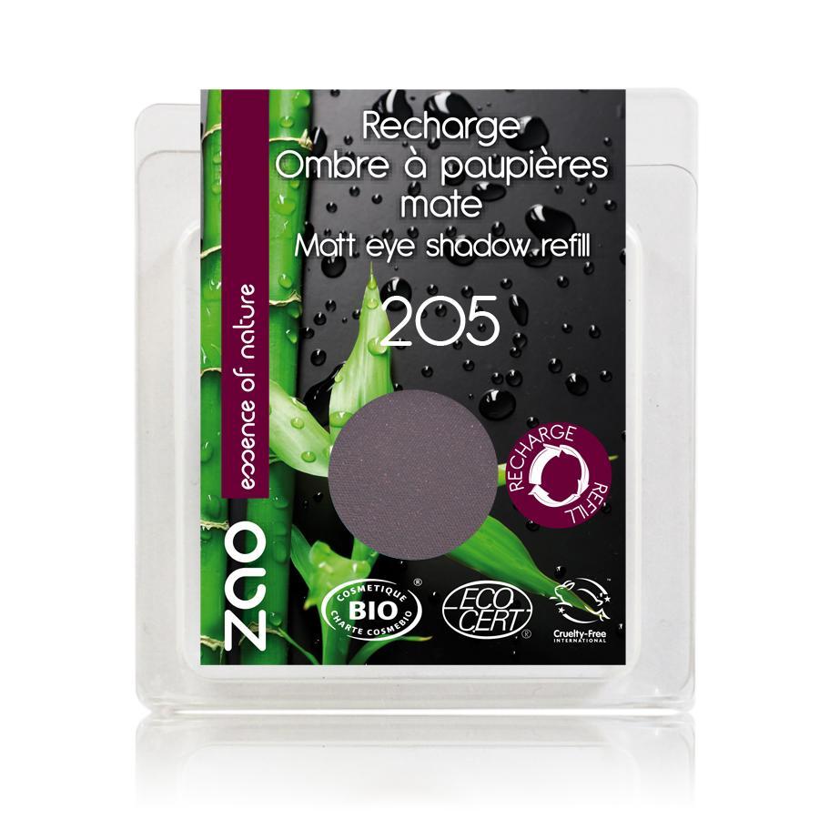 ZAO Matné oční stíny 205 Dark Purple 3 g náplň