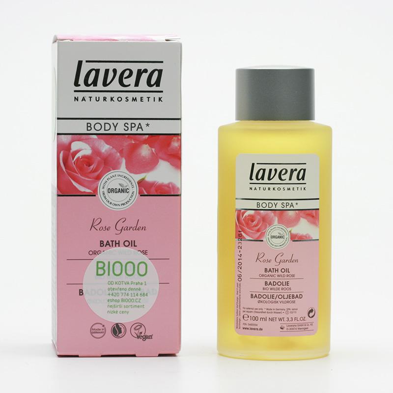 Lavera Koupelový olej divoká růže, Body Spa 100 ml