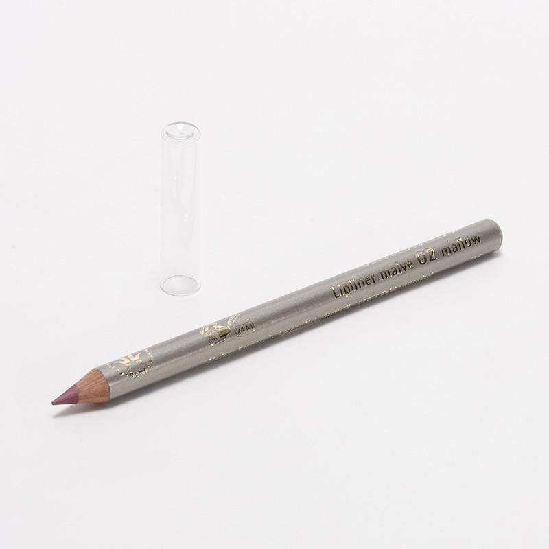 Logona x Konturovací tužka na rty 02, Malve  1,14 g
