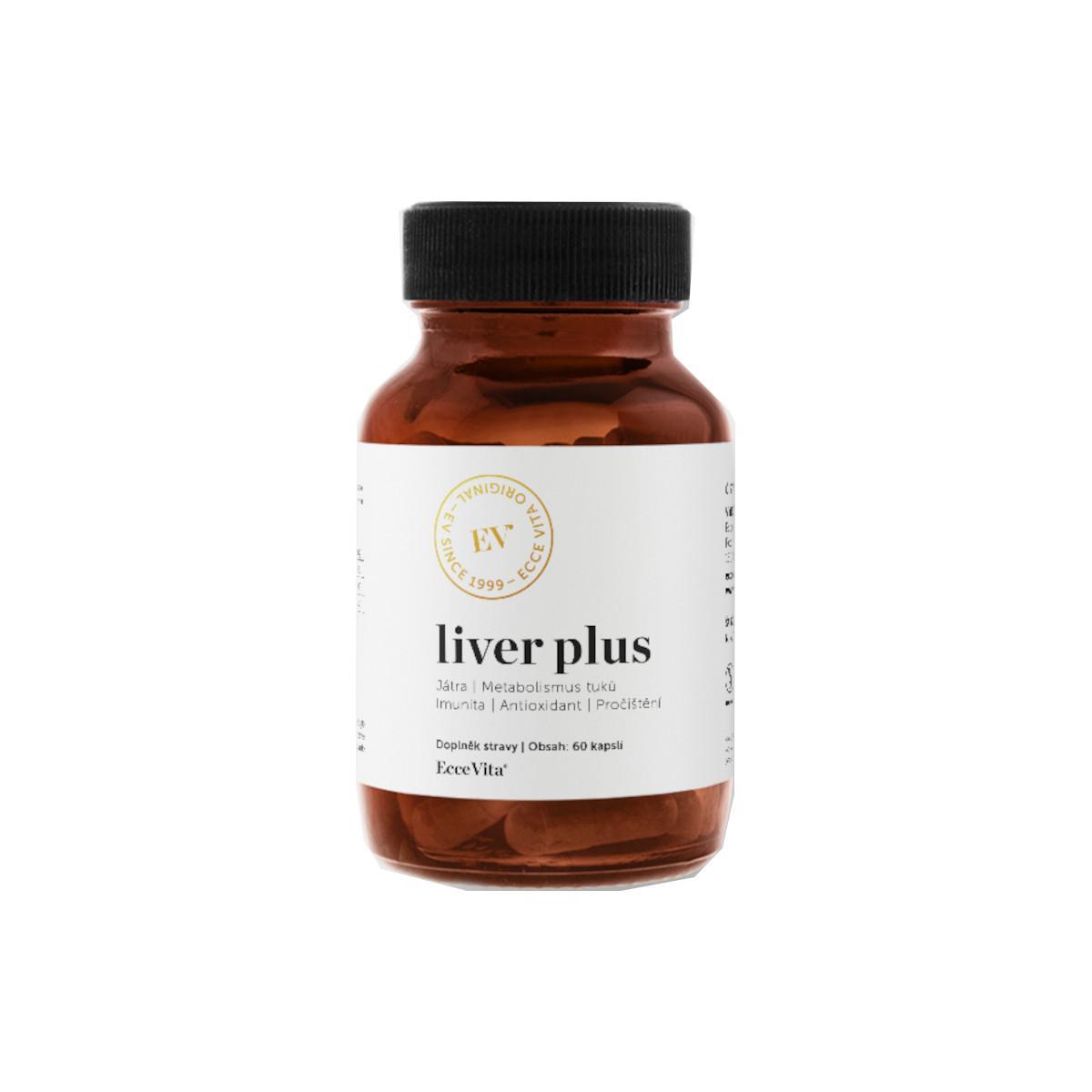 Ecce Vita Liver Plus, kapsle 60 ks, 21,6 g