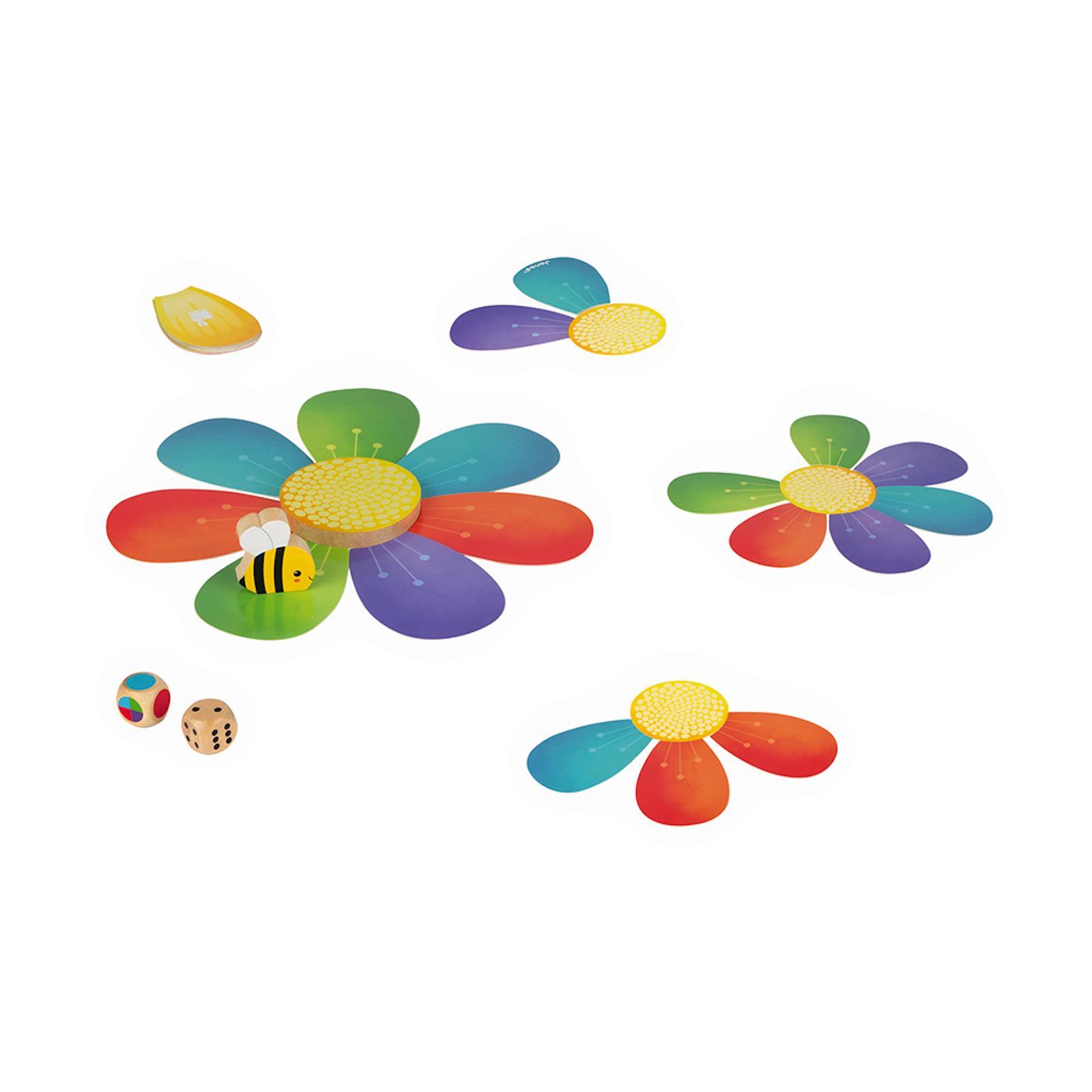 Janod Hra pro děti Šťastná včelka na koncentraci a rychlost od 3 let 1 ks