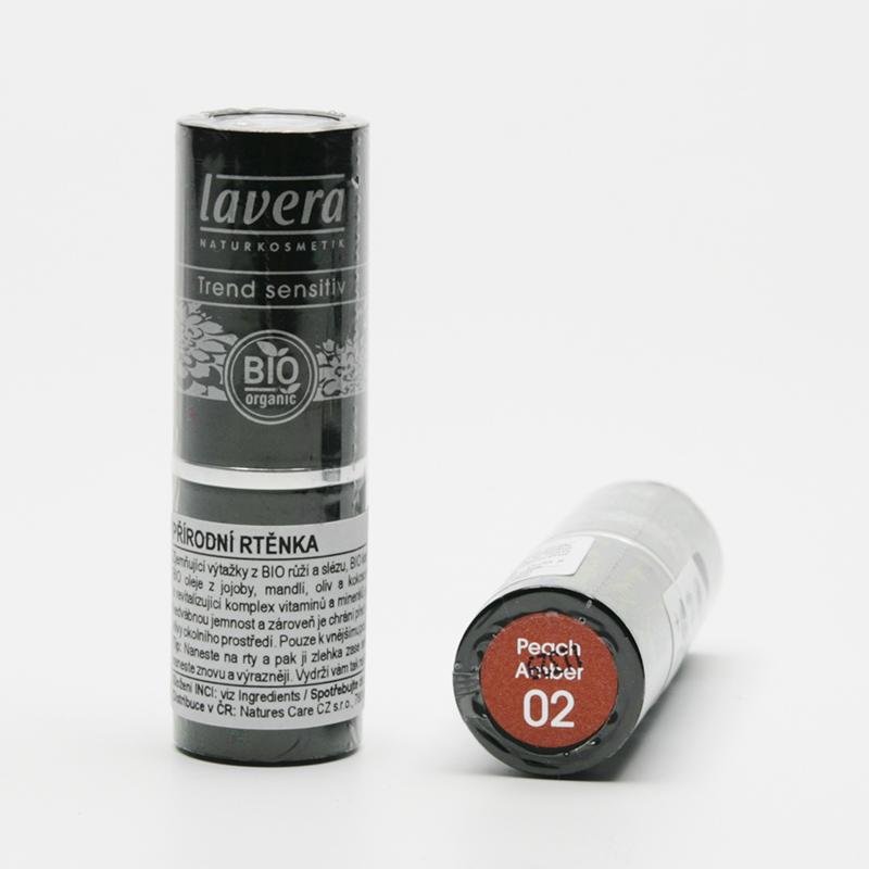 Lavera Rtěnka 02 broskvová, Trend Sensitive 4,5 g