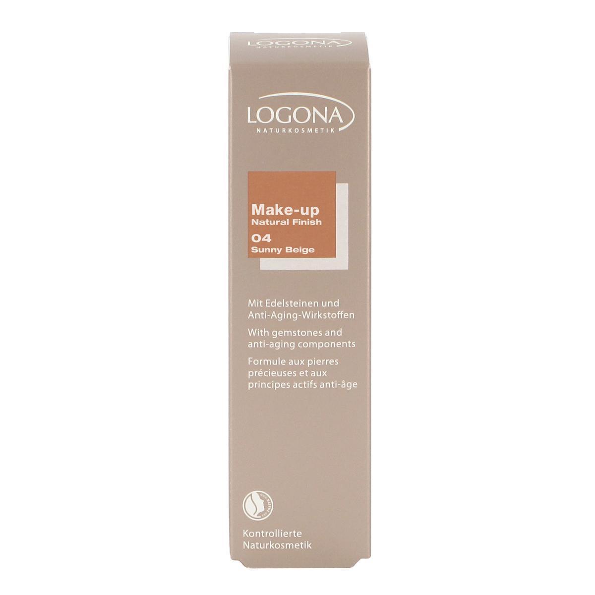 Logona Krémový make-up 04 tmavě béžový - vyřazen 30 ml