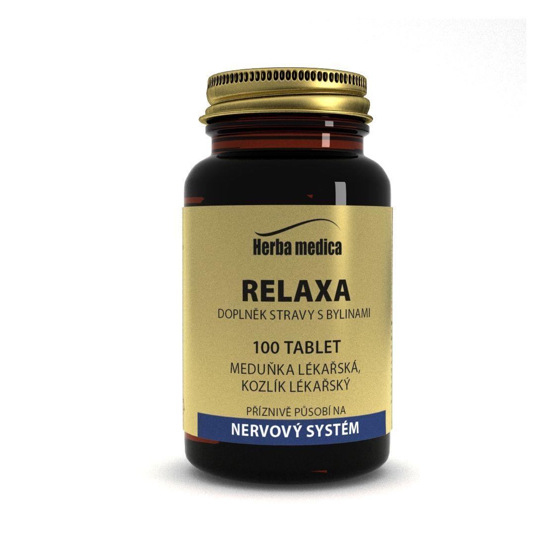 Herba Medica Relaxa 50 g,100 ks (tablet)
