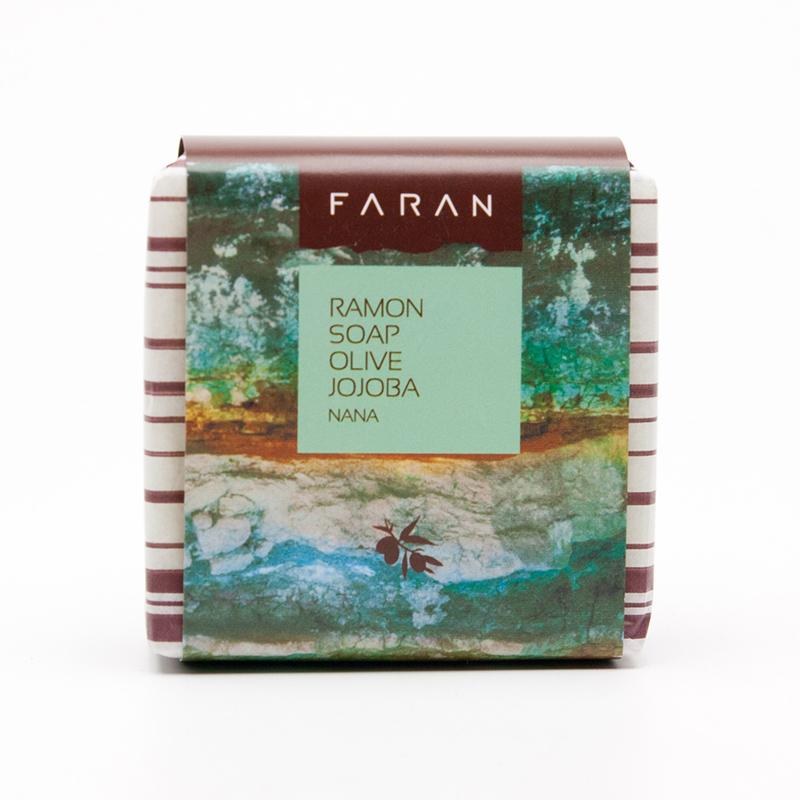 Faran Mýdlo s olivovým a jojobovým olejem Ramon Nana 100 g