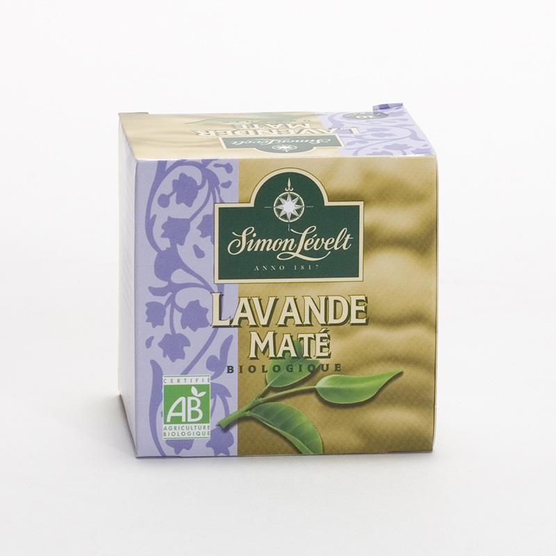 Simon Levelt Maté Lavander 10 ks, 15 g