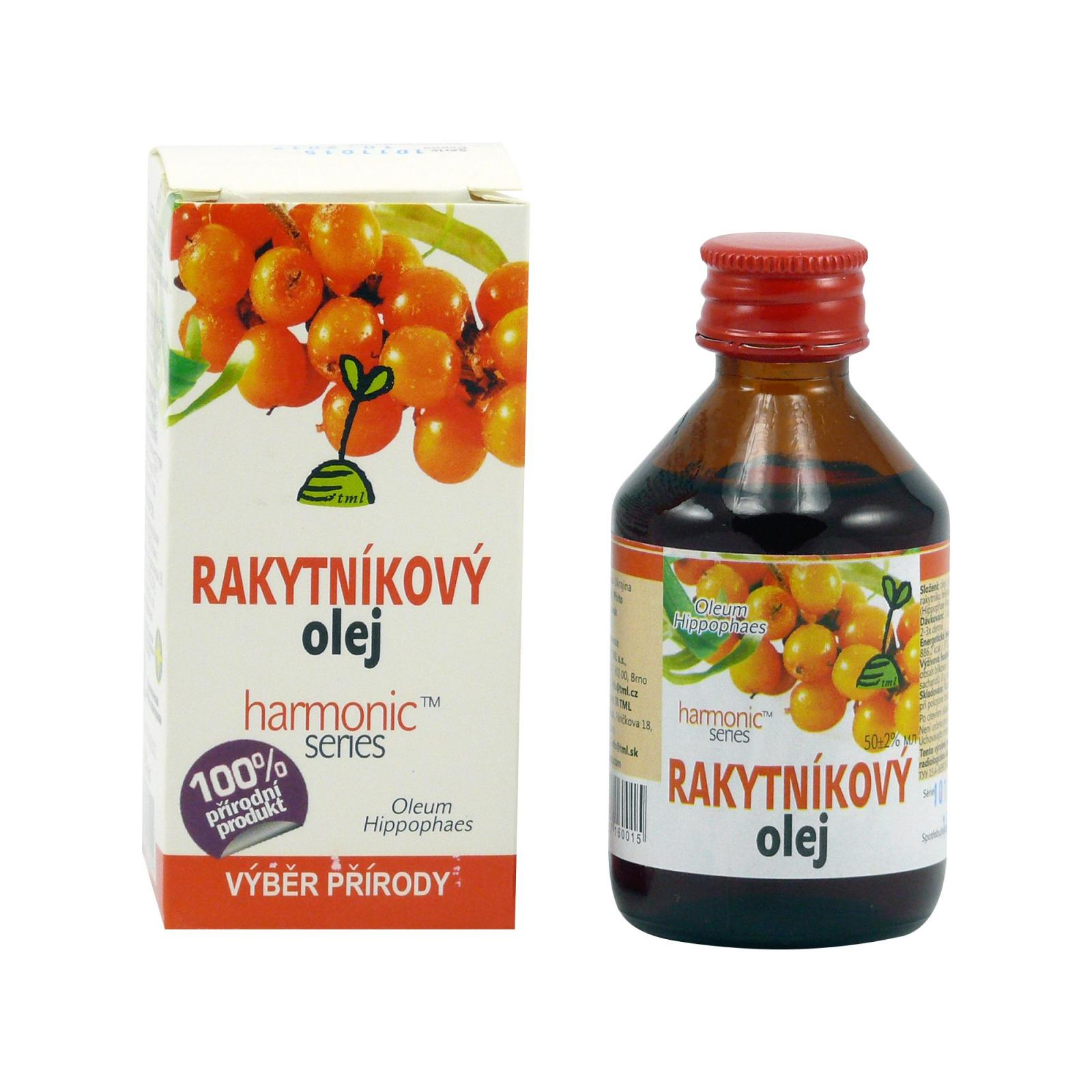 ostatní Rakytníkový olej, 152 karotenoidů 50 ml