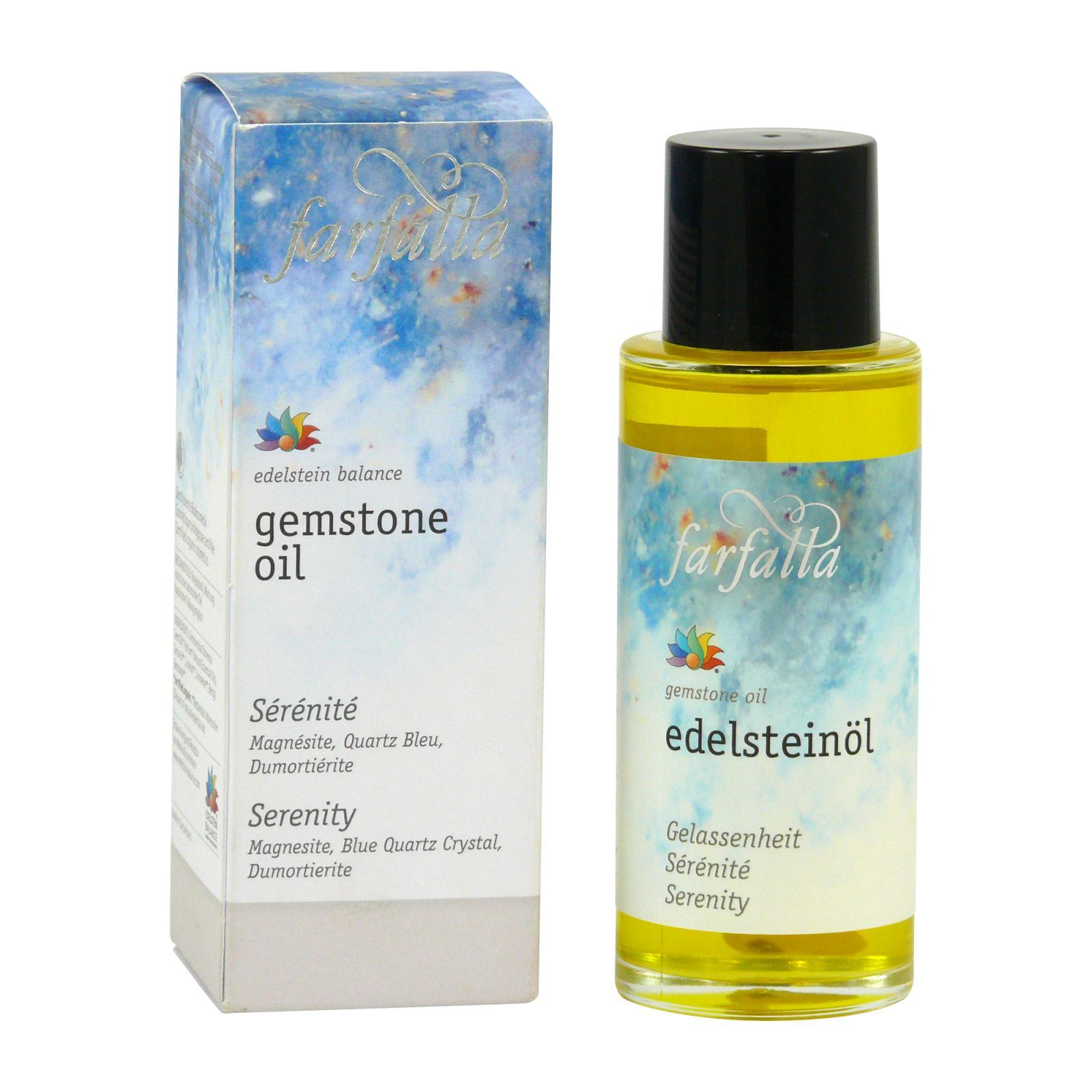 Farfalla Drahokamový pleťový a tělový olej Rovnováha 80 ml