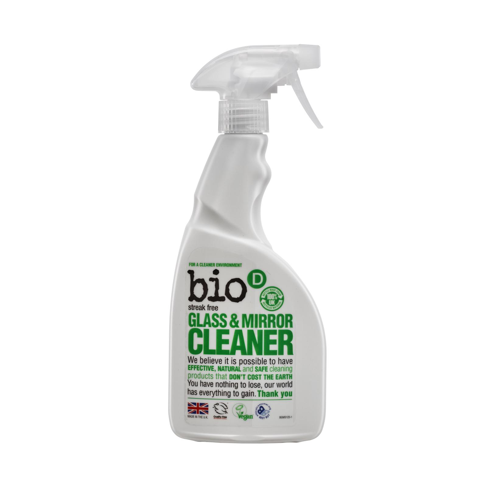Bio-D Čistič na sklo a zrcadla 500 ml rozprašovač