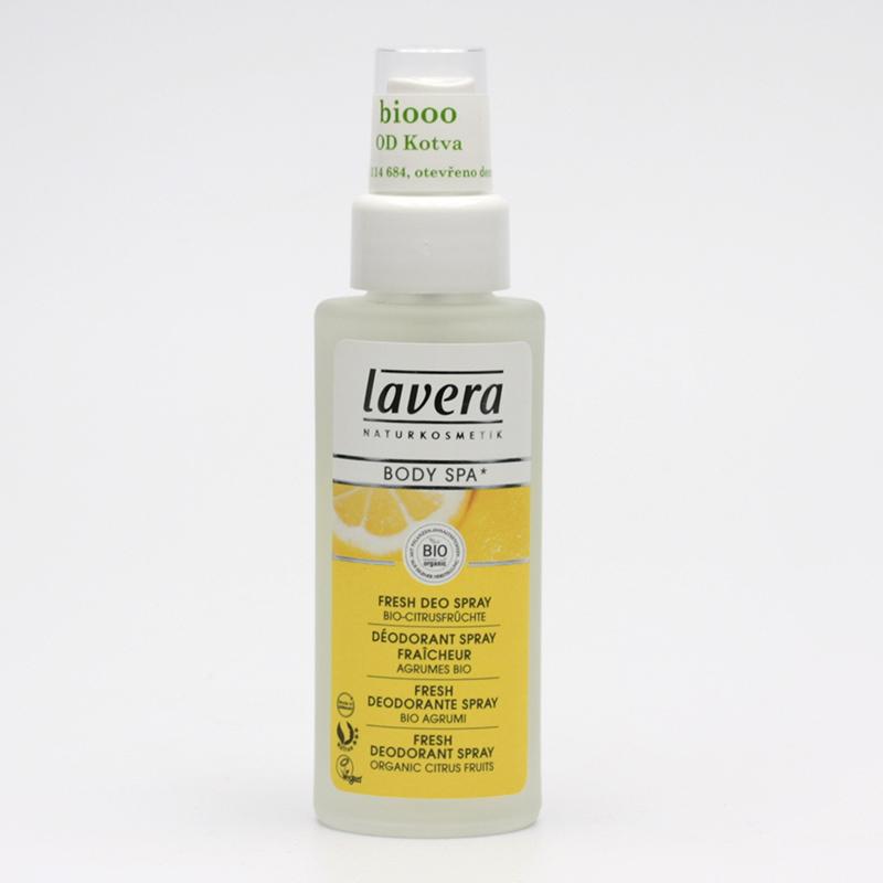 Lavera Výprodej Deodorant sprej citrusové plody, Body Spa 50 ml