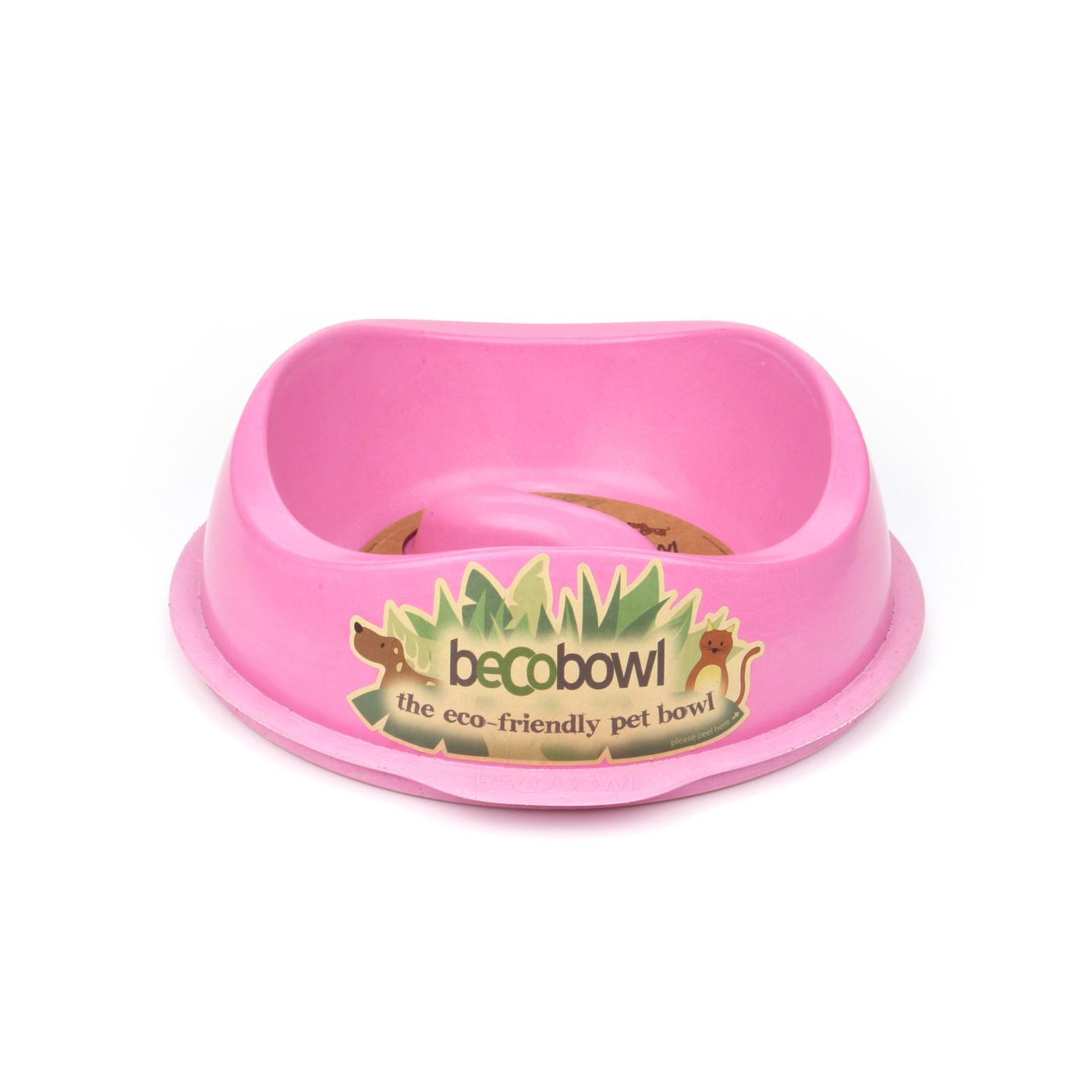 Beco Pets Beco Bowl Slow Feed Large 1 ks, růžová