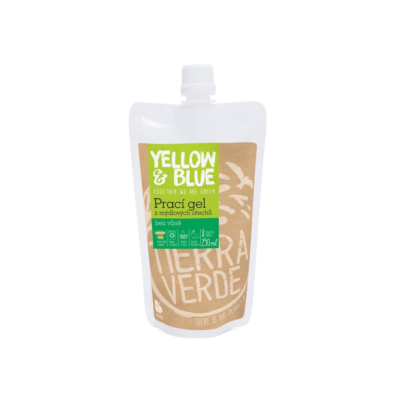 Yellow and Blue Prací gel z ořechů natural 250 ml