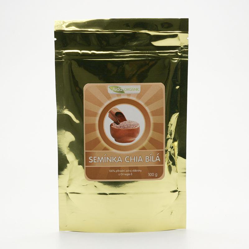 Aida Organic Chia semínka bílá 100 g