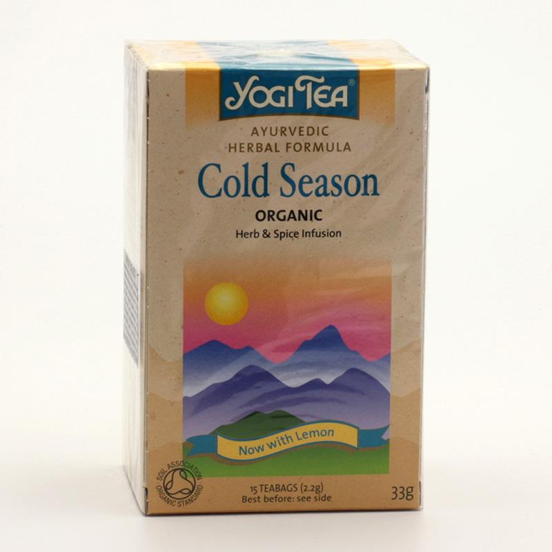Yogi Tea Čaj Cold Season 17 ks, 33 g