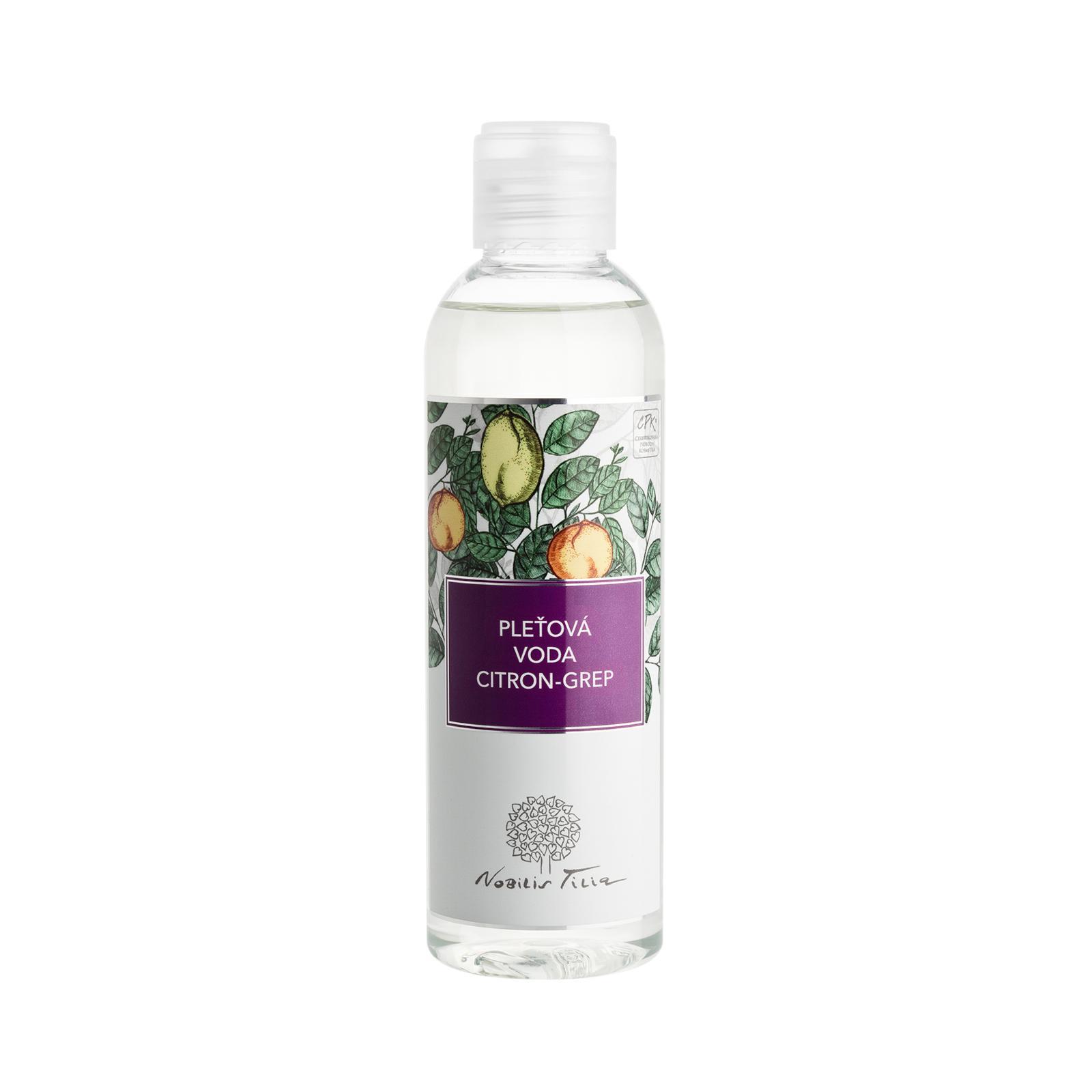 Nobilis Tilia Pleťová voda citron a grep 200 ml