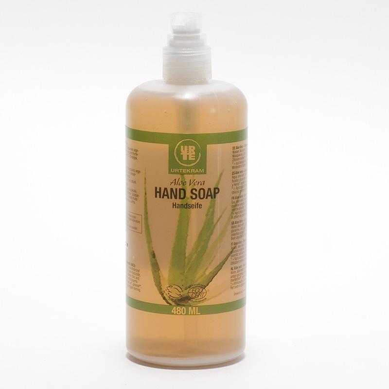 Urtekram Tekuté mýdlo na ruce aloe vera 480 ml