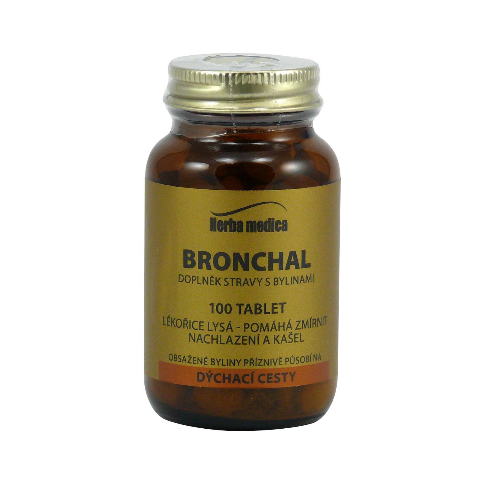 Herba Medica Bronchal 50 g,100 ks (tablet)
