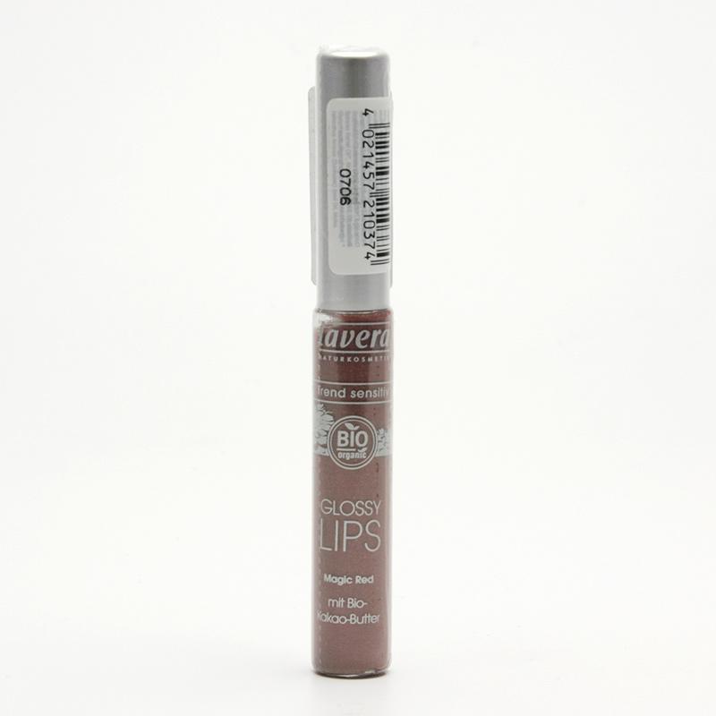 Lavera Lesk na rty 03 tajuplná červeň, Trend Sensitiv 6,5 ml