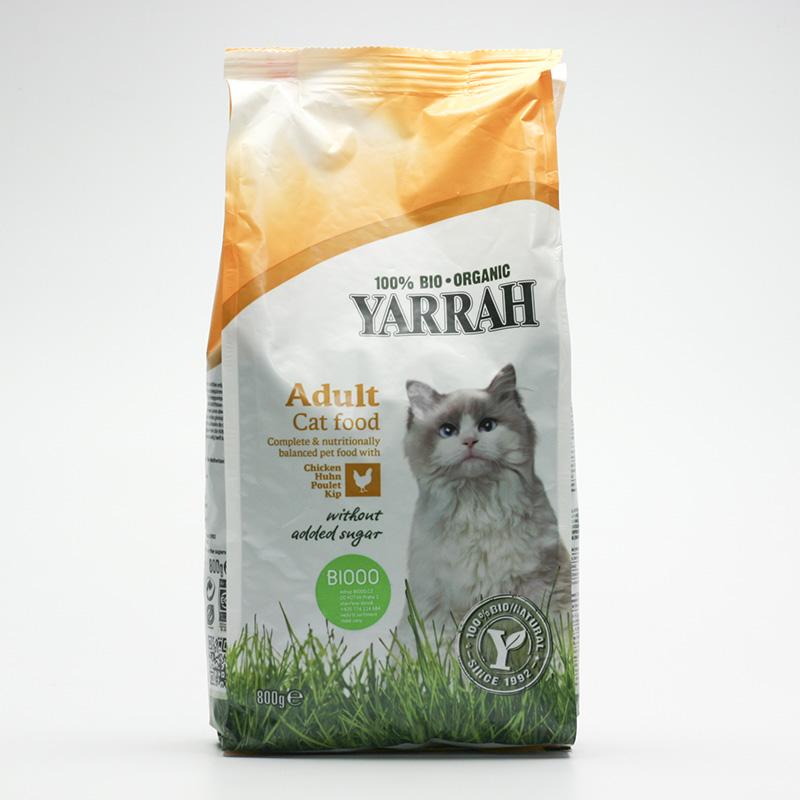 Yarrah Granule pro kočky kuřecí 800 g