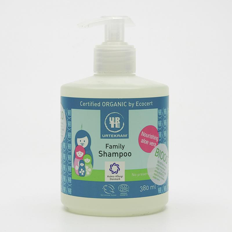 Urtekram Šampon family 380 ml