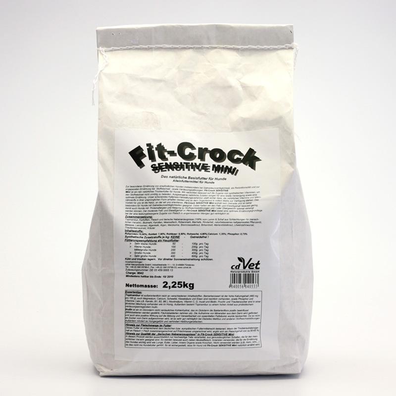 CdVet Lisované krmivo Fit-Crock Sensitive Mini 200 g