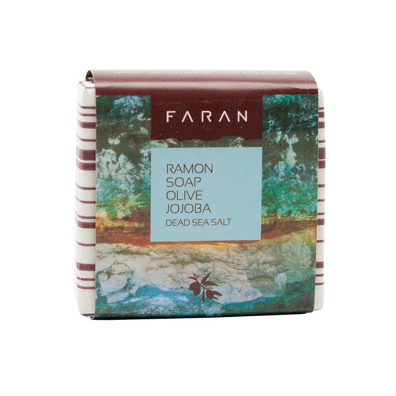 Faran Mýdlo s olivovým a jojobovým olejem Ramon Dead Sea Salt 100 g