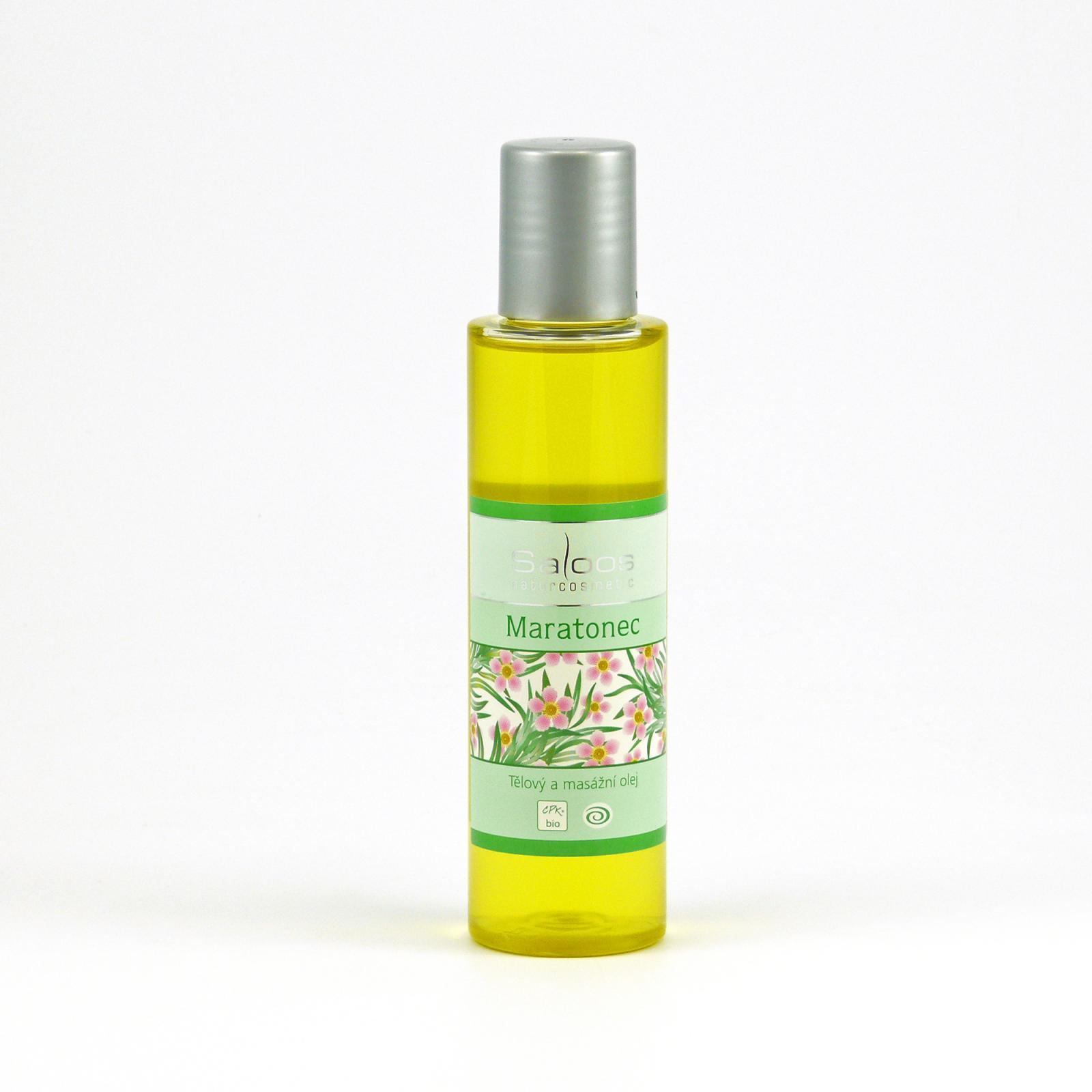 Saloos Masážní olej maratonec 125 ml