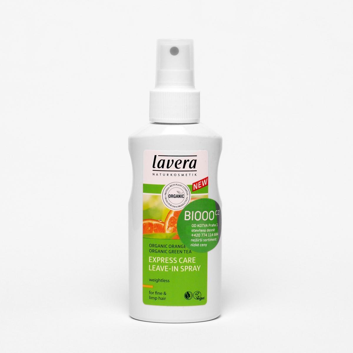 Lavera Expresní pečující sprej na vlasy, Hair Pro 125 ml
