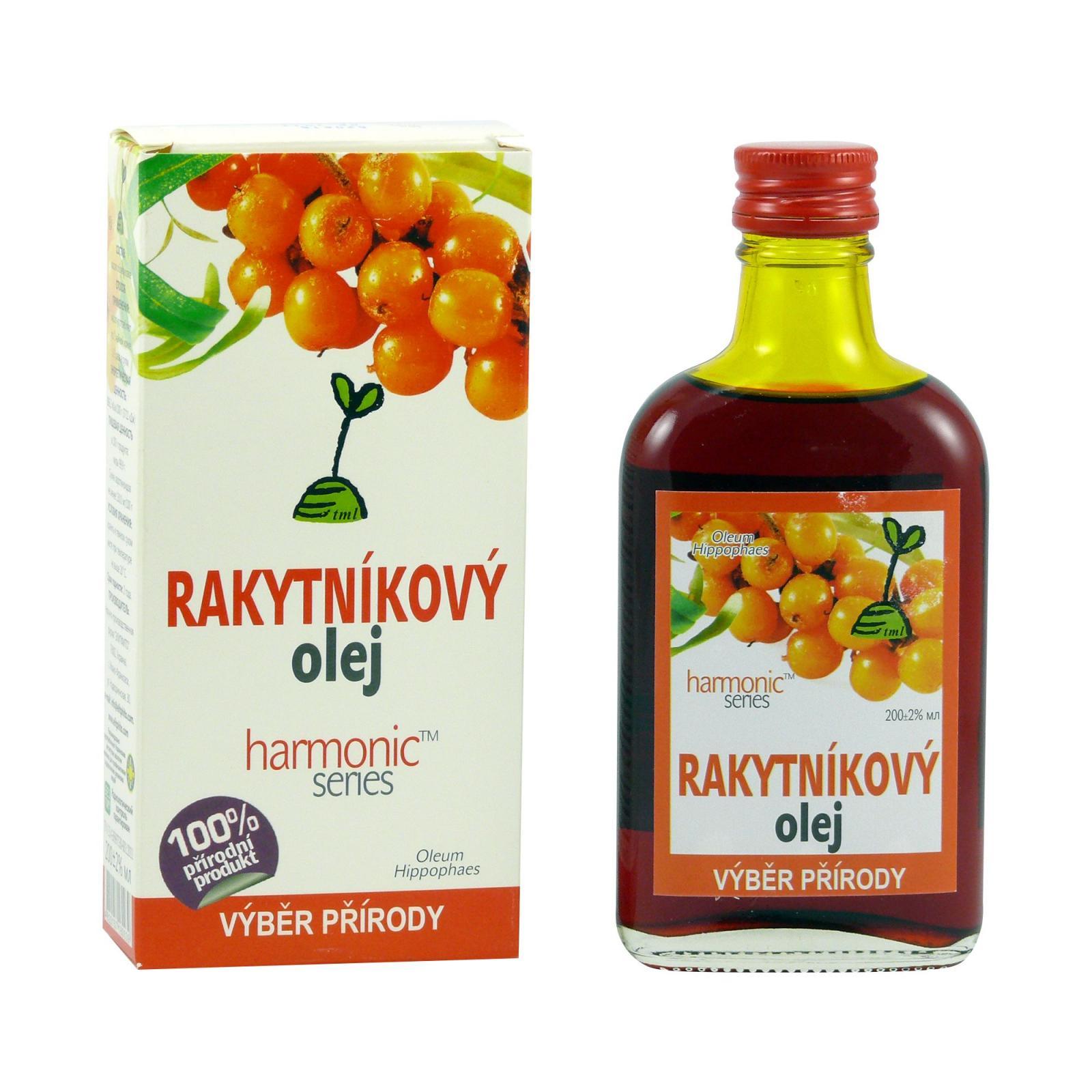 ostatní Rakytníkový olej, 152 karotenoidů 200 ml