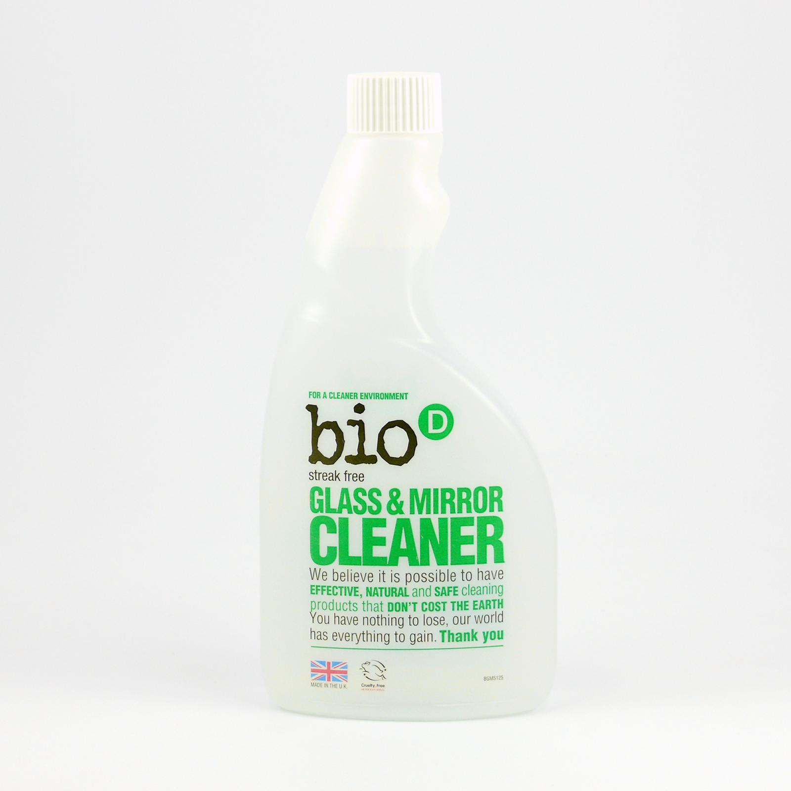 Bio-D Čistič na sklo a zrcadla 500 ml náplň