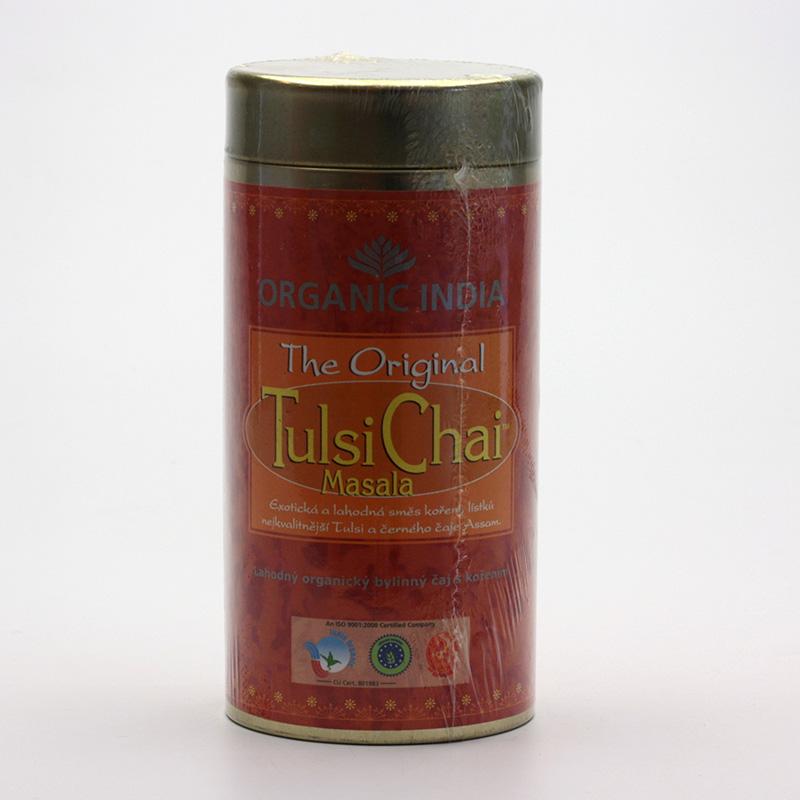 Organic India Čaj Tulsi Chai Masala, sypaný, bio 100 g