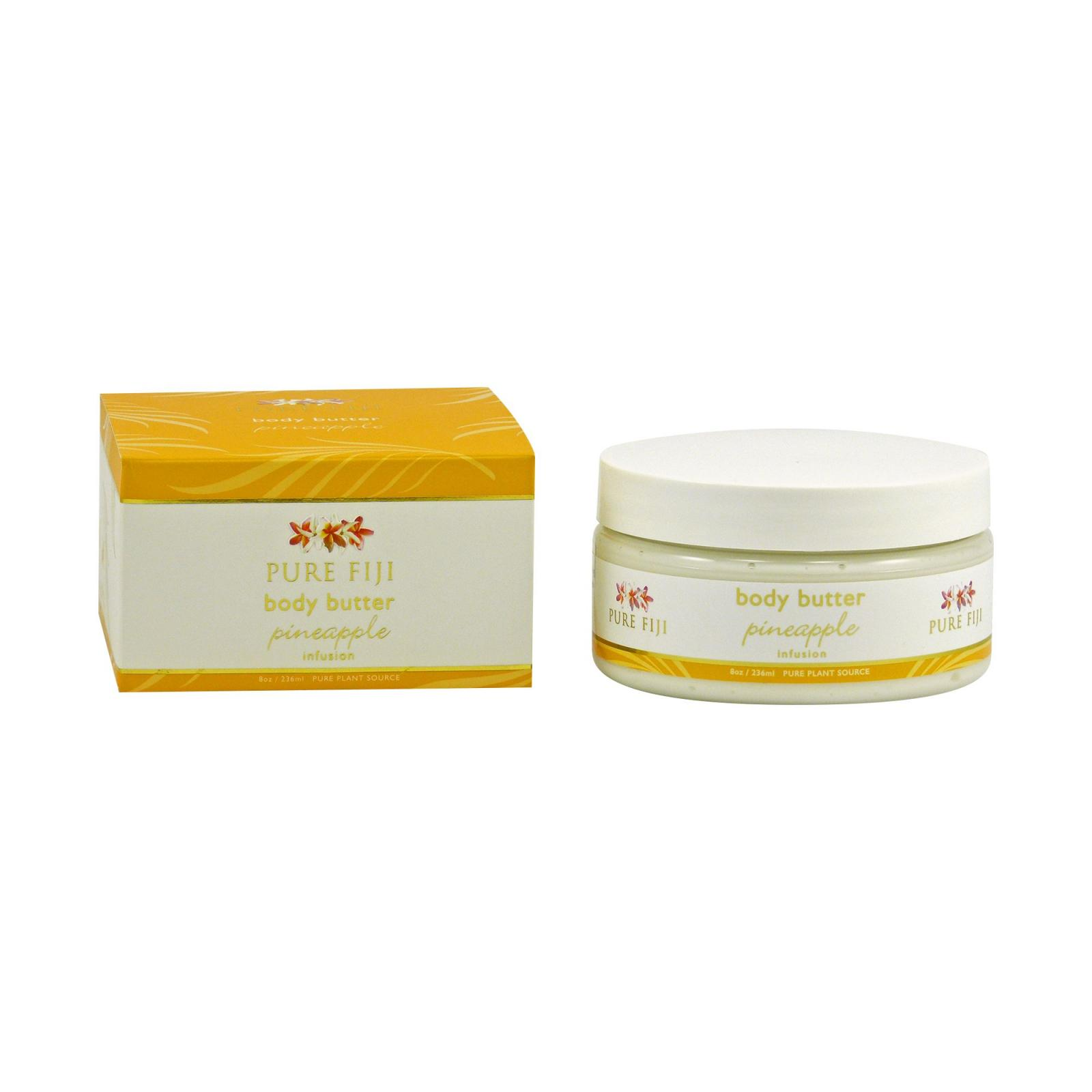 Pure Fiji Tělové máslo, ananas 236 ml