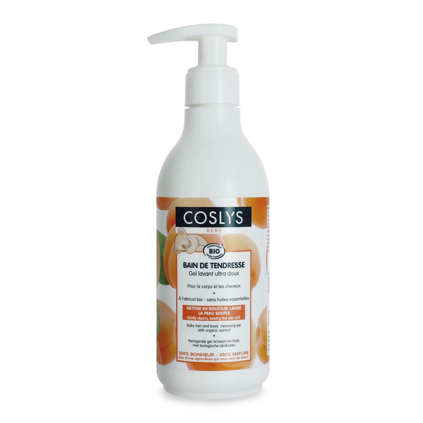 Coslys Kojenecký čisticí gel na tělo i vlasy, Bébé 250 ml