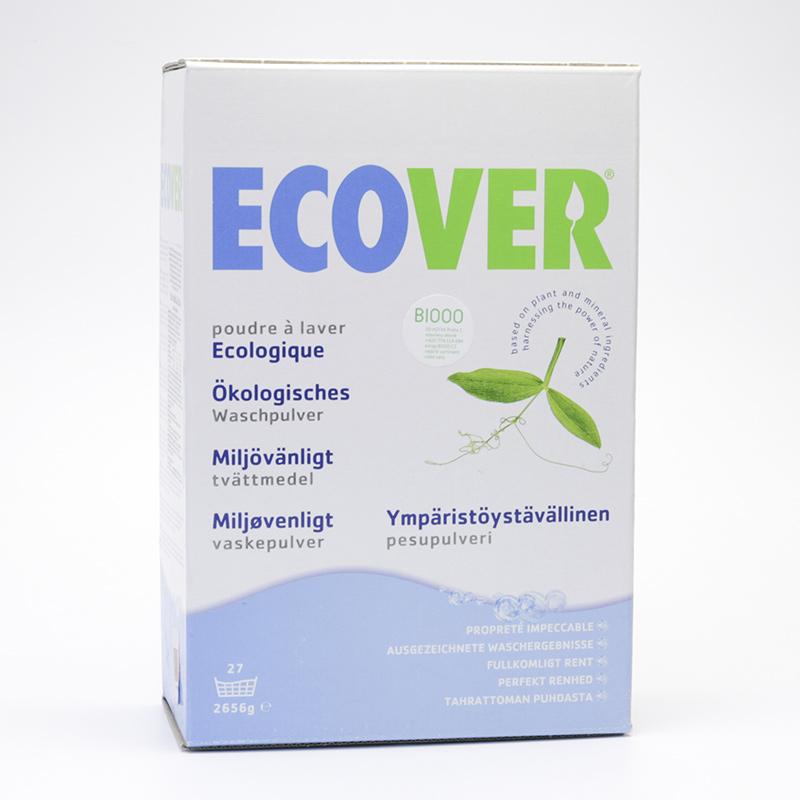 Ecover Prací prášek na bílé prádlo 2,656 kg