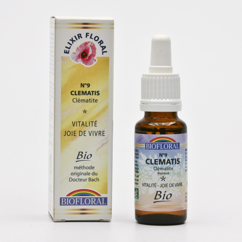 Biofloral Esence Clematis, květy Dr. Bach 20 ml