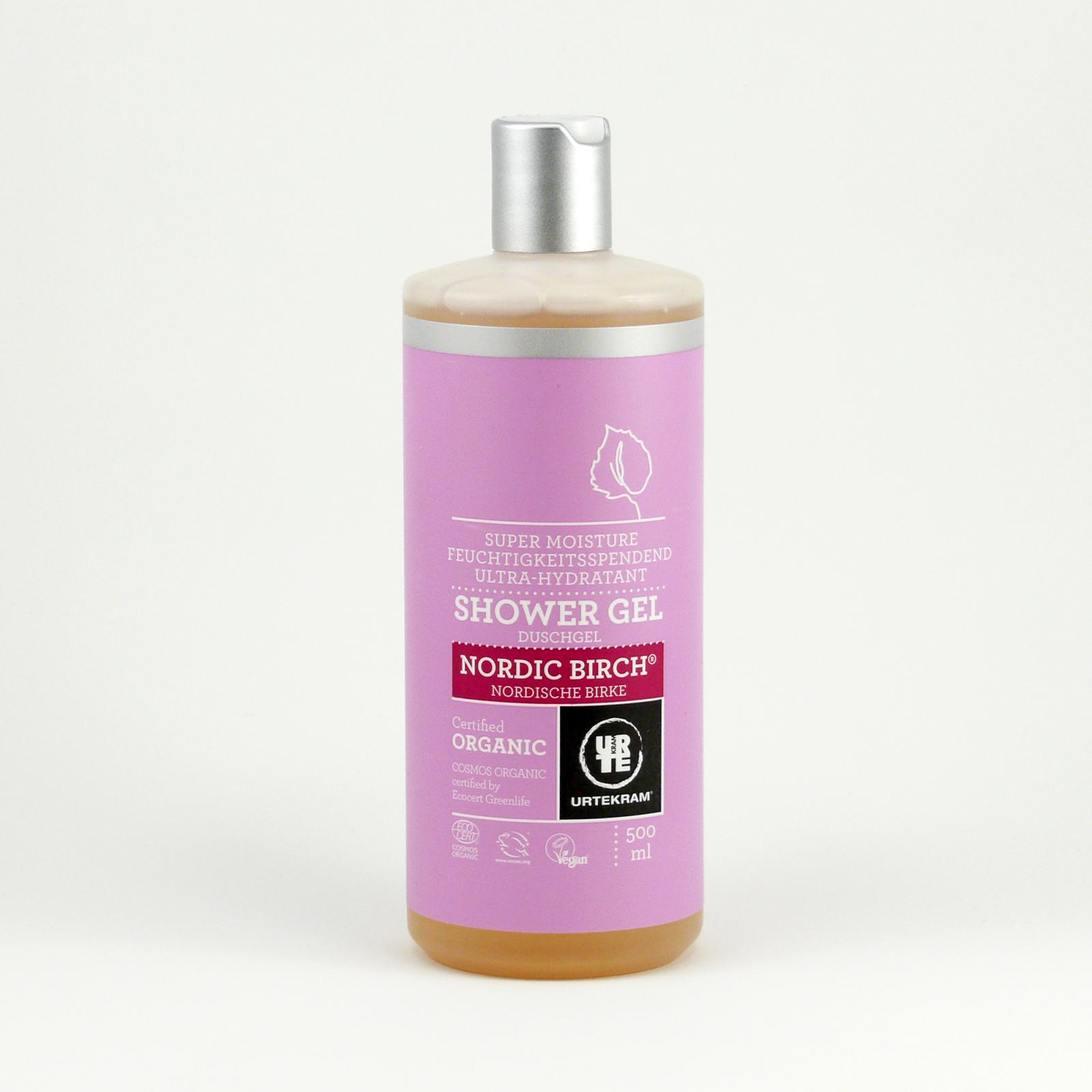 Urtekram Sprchový gel, Severská bříza 500 ml