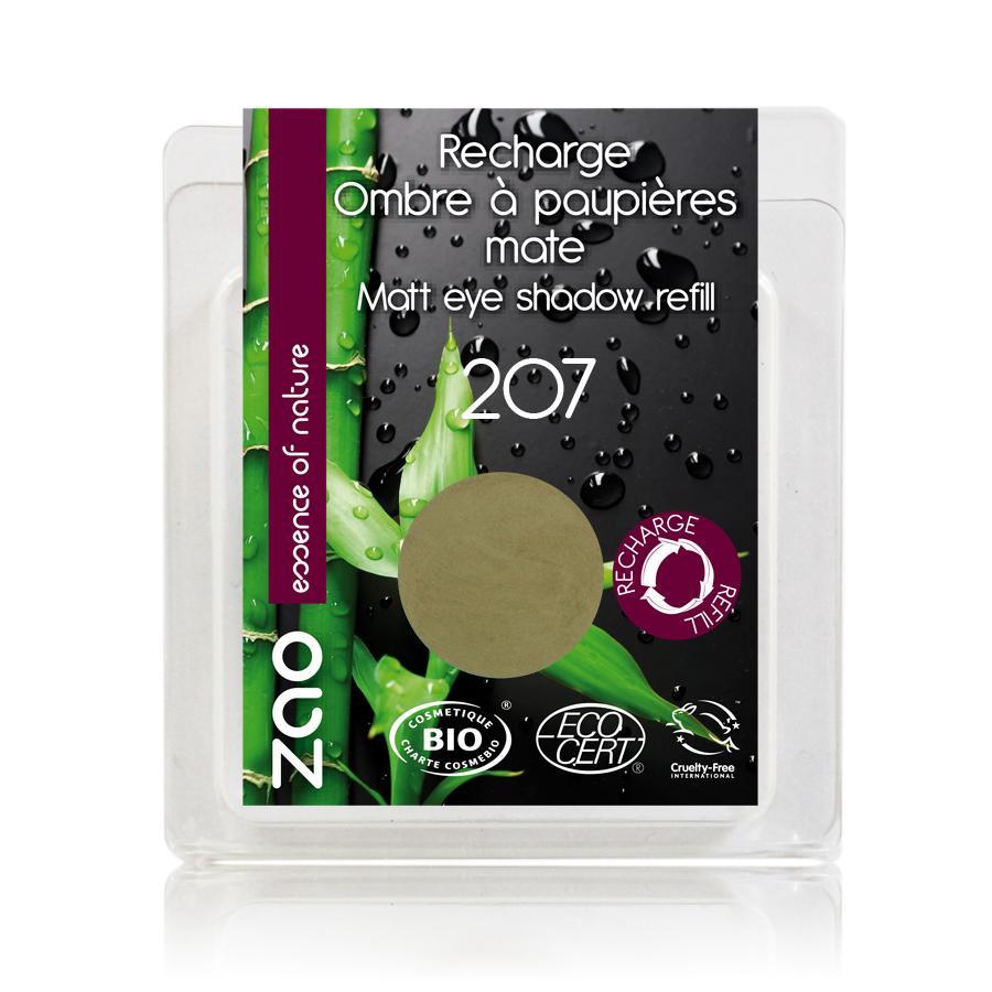 ZAO Matné oční stíny 207 Green Olive 3 g náplň