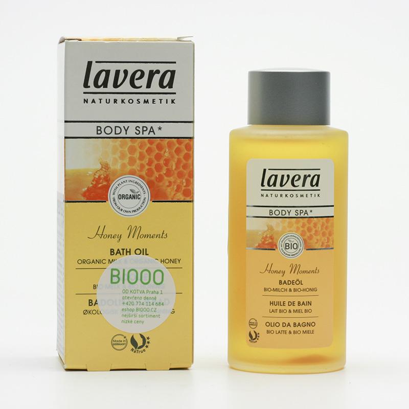 Lavera Koupelový olej mléko a med, Body Spa 100 ml