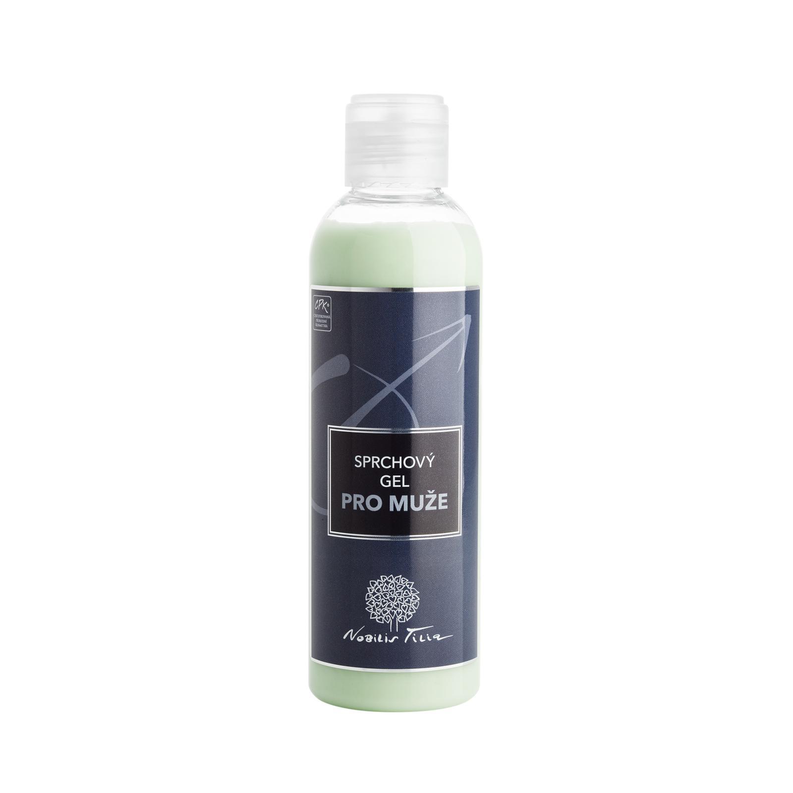 Nobilis Tilia Sprchový gel s avokádovým olejem, pánský 200 ml