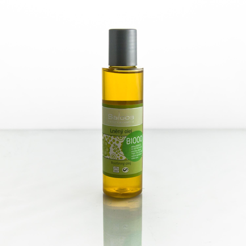Saloos Lněný olej 125 ml