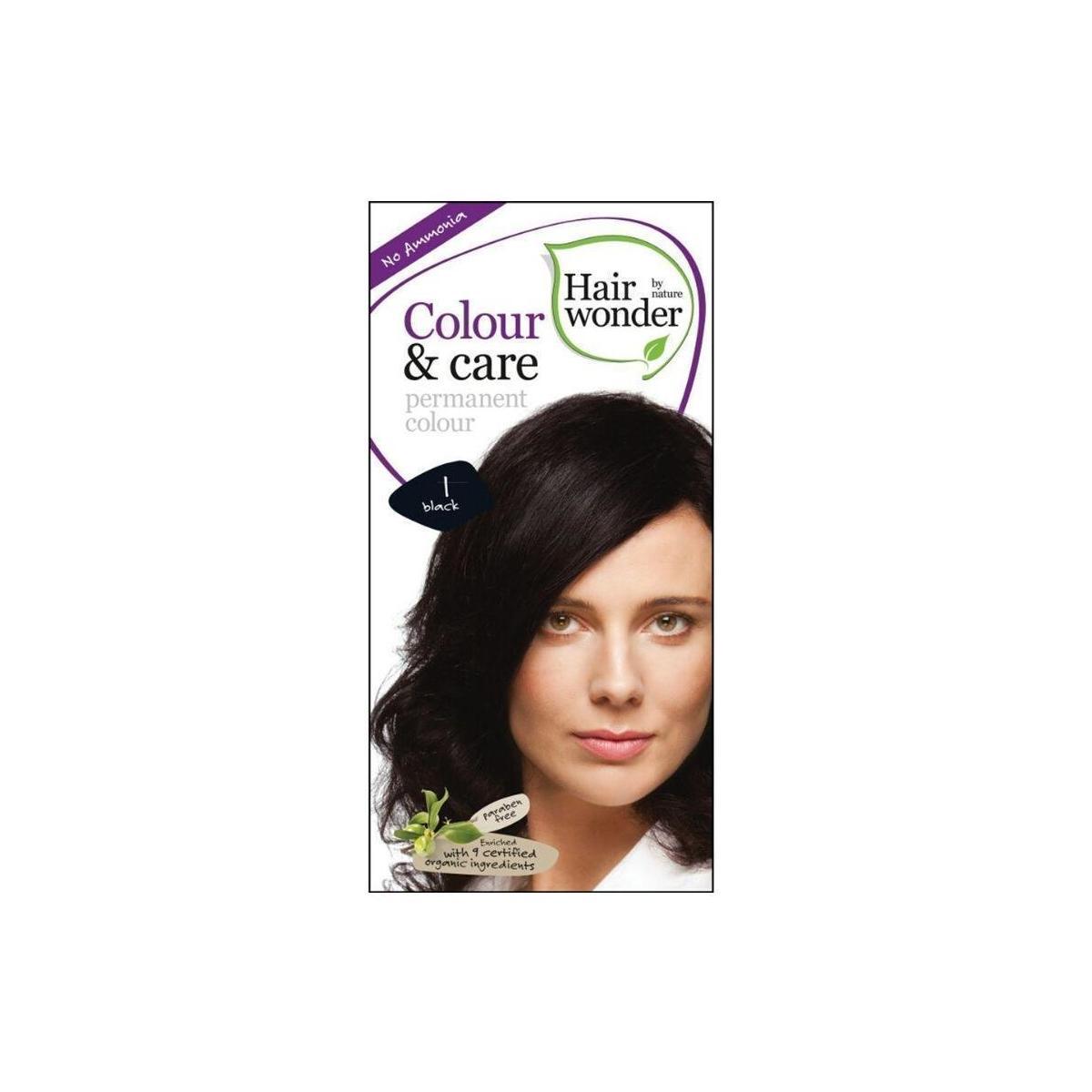 Hairwonder Dlouhotrvající barva černá 1 100 ml