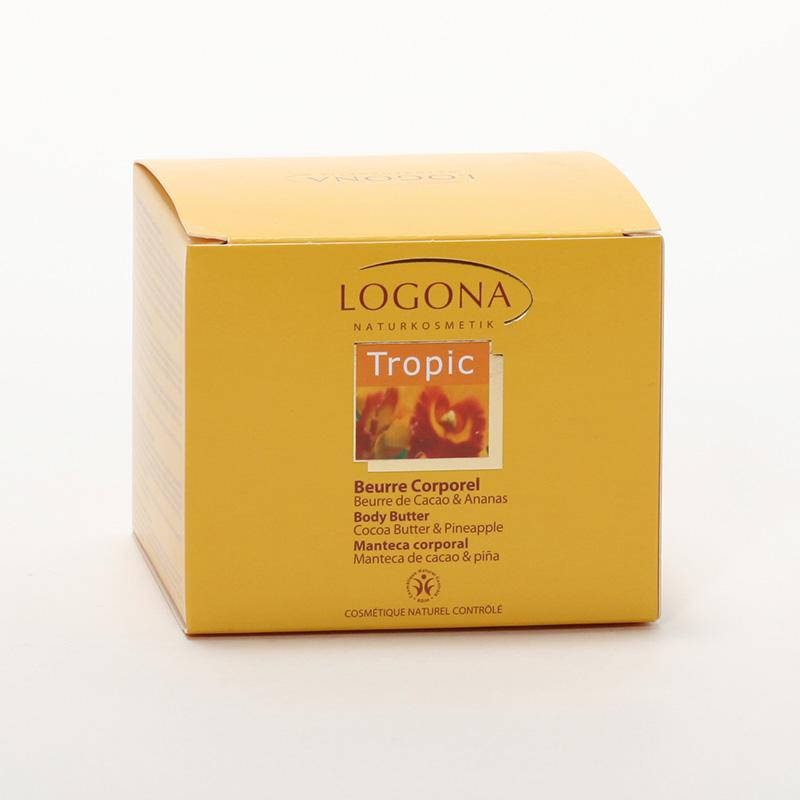 Logona Tělové máslo, Tropic - vyřazen 200 ml