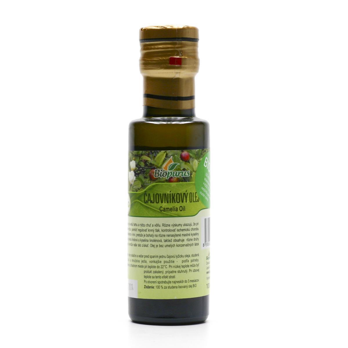 Biopurus Čajovníkový olej bio 100 ml