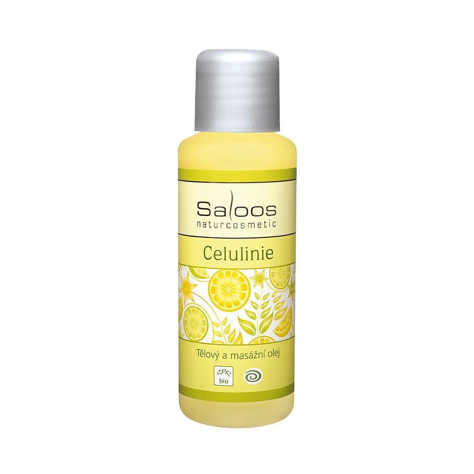Saloos Masážní olej celulinie 50 ml