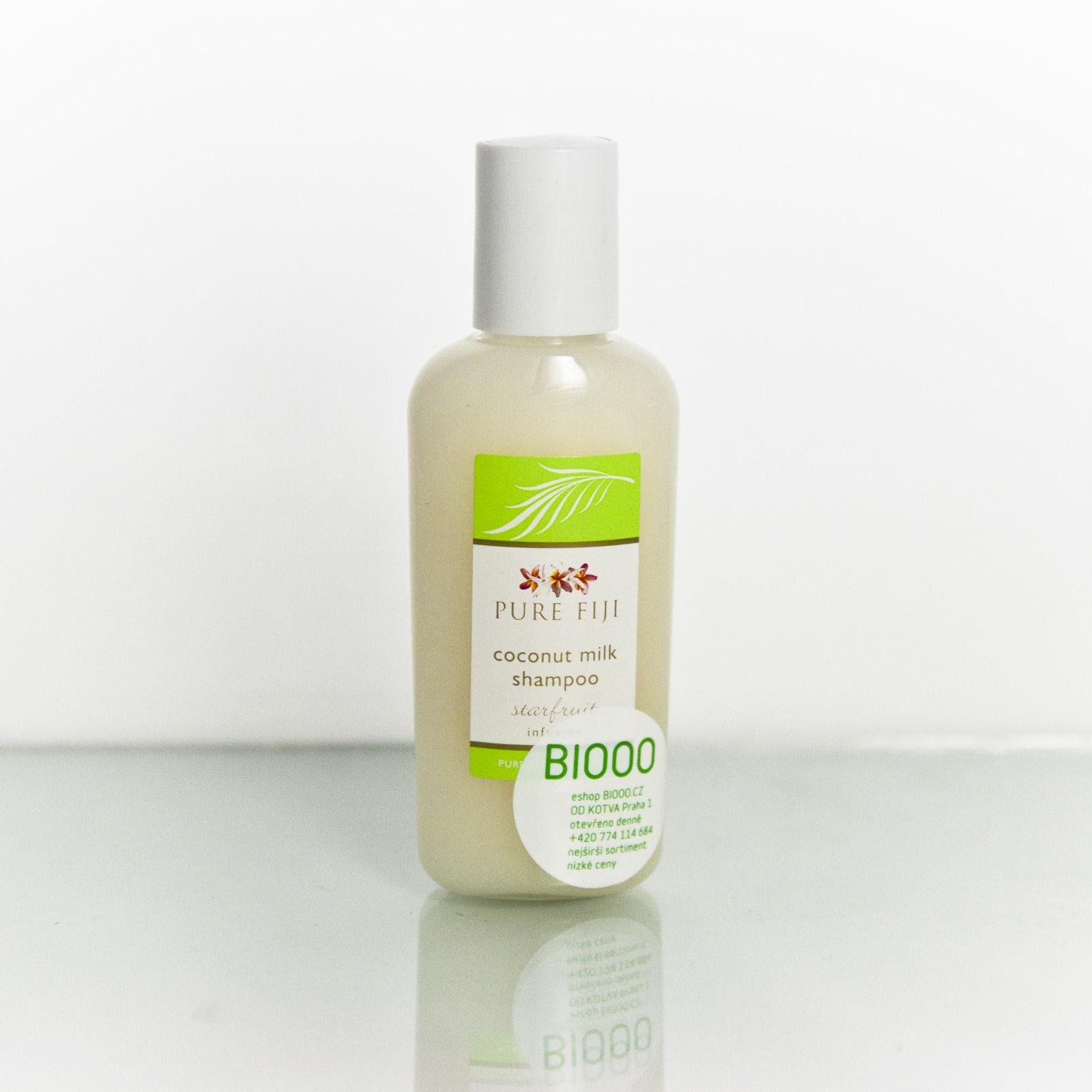 Pure Fiji Kokosový šampon, karambola 59 ml