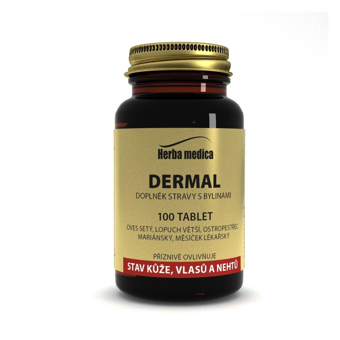 Herba Medica Dermal 50 g,100 ks (tablet)